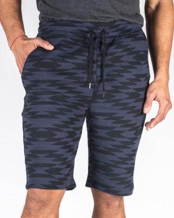 Malkara Knit Short - Navy&Black front